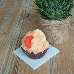 Pâti'bougie Cupcake orange...