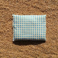 Bouillotte rectangle pois