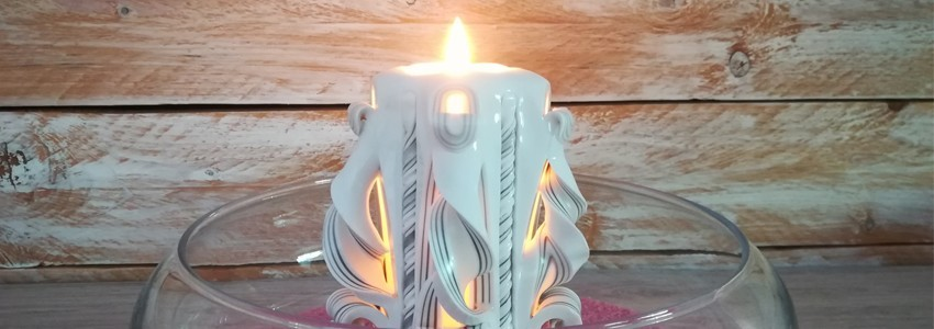 Nos bougies sculptées